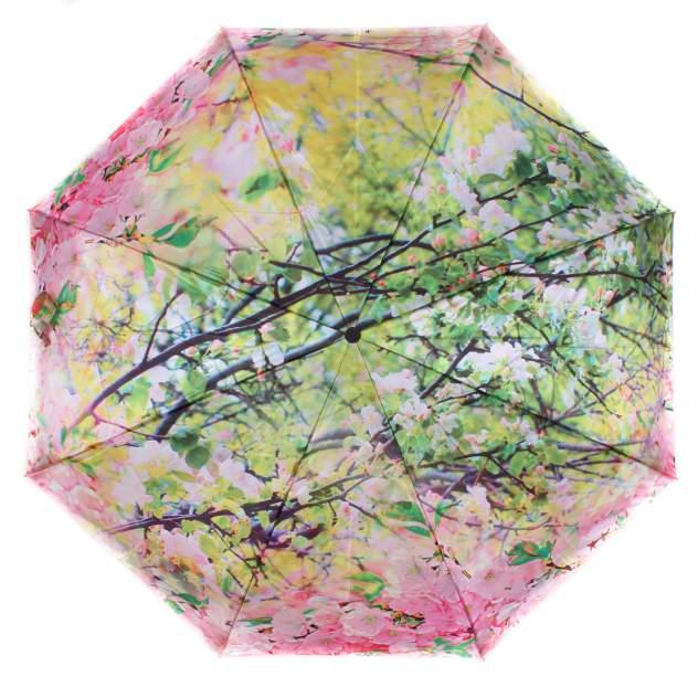 Зонт складной женский автоматический Flioraj 231216 FJ розовый