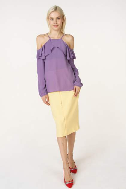Блуза женская adL 11533932000 фиолетовая 40 RU
