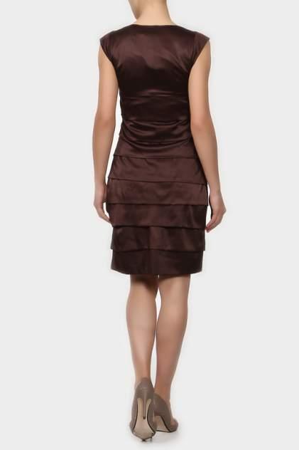 Платье женское Sisline L09K-6467 коричневое 2 EU