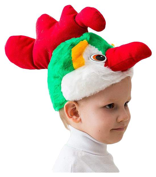 Карнавальная шапка Бока Петух, 54-56 см 1151