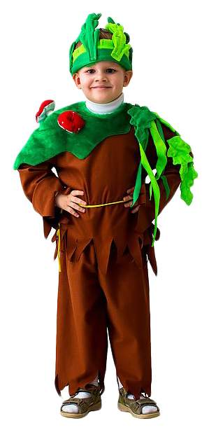 Карнавальный костюм Бока Леший, цв. коричневый р.122