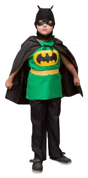 Карнавальный костюм Бока Бэтмен, цв. черный р.122