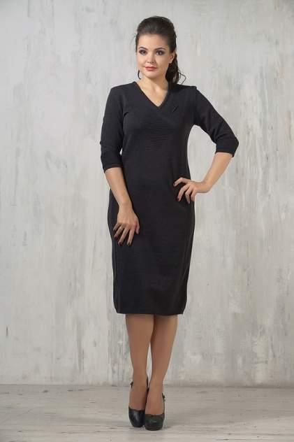 Платье женское VAY 2227 серое 56 RU