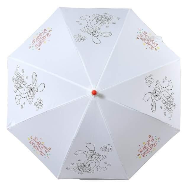 Зонт-трость женский автоматический ZEST 21581-253 белый