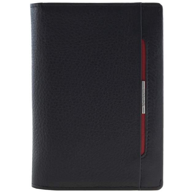 Обложка для автодокументов и паспорта Tony Perotti 681096 черная