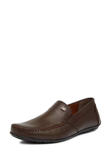 Мокасины мужские Alessio Nesca 02706170, коричневый