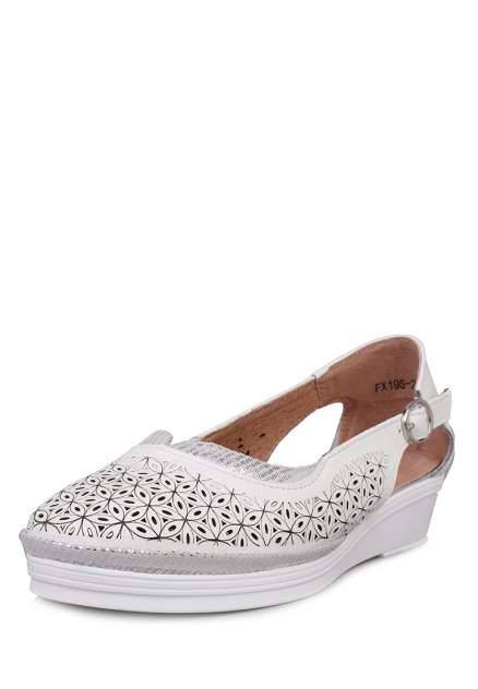 Туфли женские Alessio Nesca 27306140 белые 38 RU