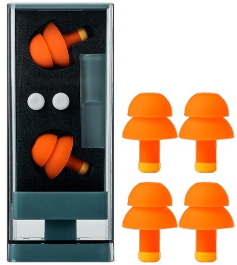 Беруши Xiaomi Jordan & Judy Earplugs №3 оранжевые