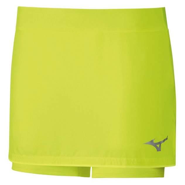 Женская юбка Mizuno Flex Skort, зеленый
