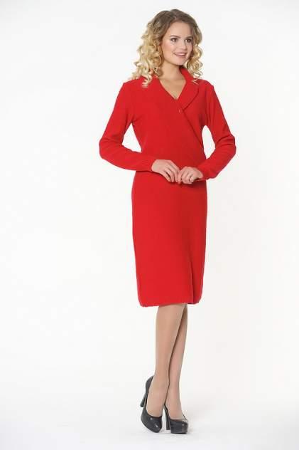 Платье женское VAY 182-2307 красное 52 RU