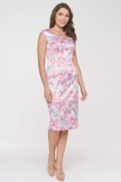 Платье женское VAY 191-3500 розовое 44 RU