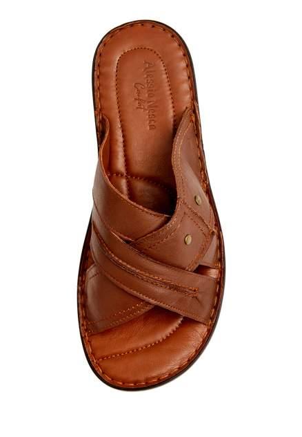 Шлепанцы мужские Alessio Nesca Comfort 710018079 коричневые 45 RU