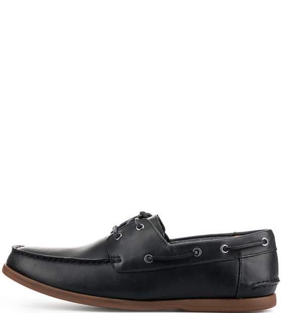 Топсайдеры мужские Clarks 26132473 navy leather синие 7 UK