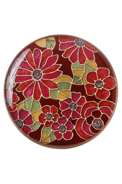 Брошь женская Clara Bijoux F75398 красная