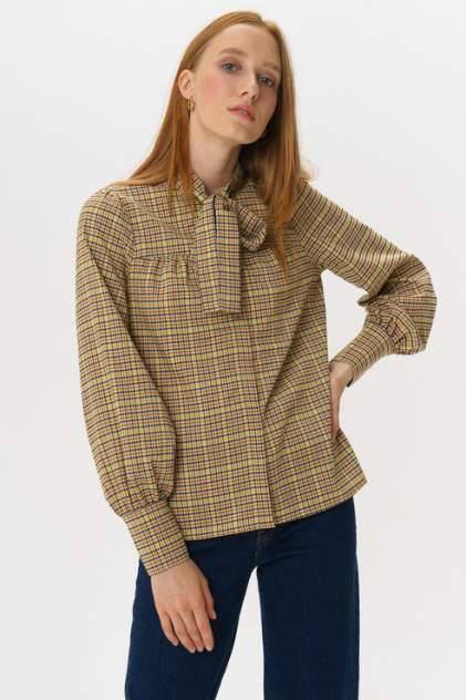 Женская блуза Y.A.S 26016323, коричневый