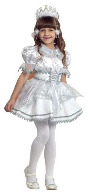 Карнавальный костюм Батик, цв. серебристый