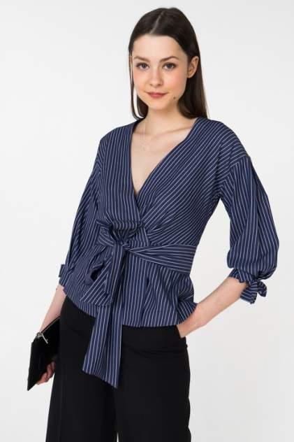 Женская блуза Audrey right 180124-14933, синий