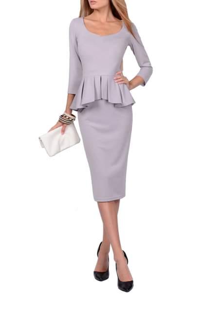 Платье женское FRANCESCA LUCINI F0722-10 серое 46 RU
