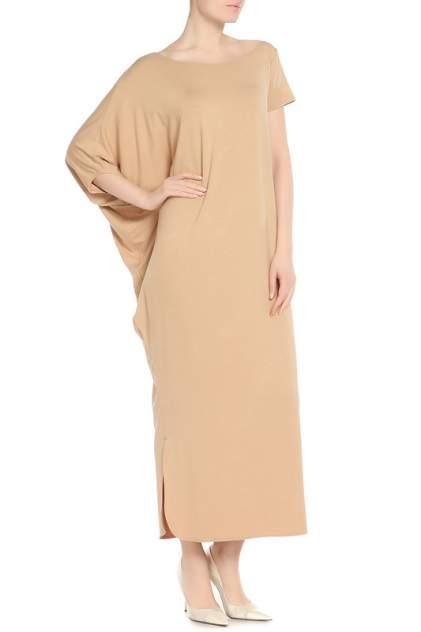 Платье женское Adzhedo 41226 бежевое 3XL