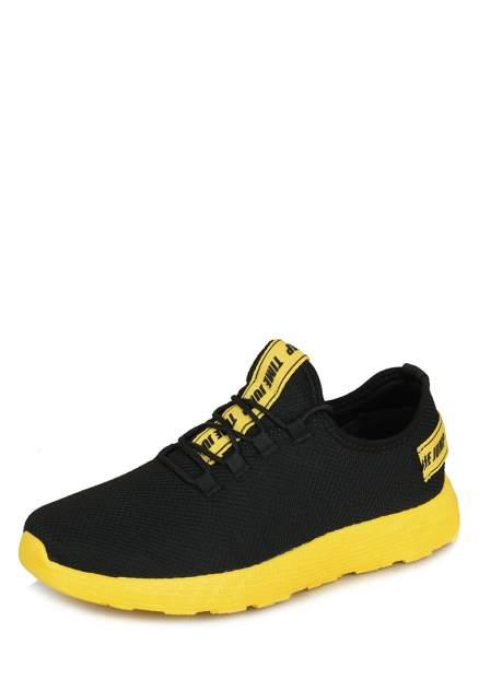Кроссовки мужские TimeJump 710019374 черные/желтые 44 RU