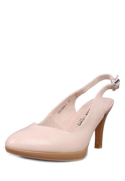 Туфли женские Alessio Nesca 710017767 бежевые 36 RU