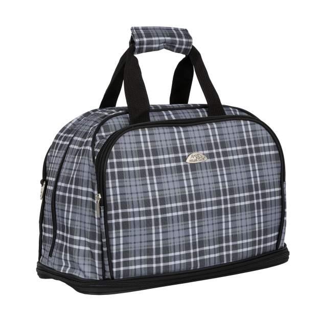 Дорожная сумка Polar П7092 серая 27 x 34 x 13