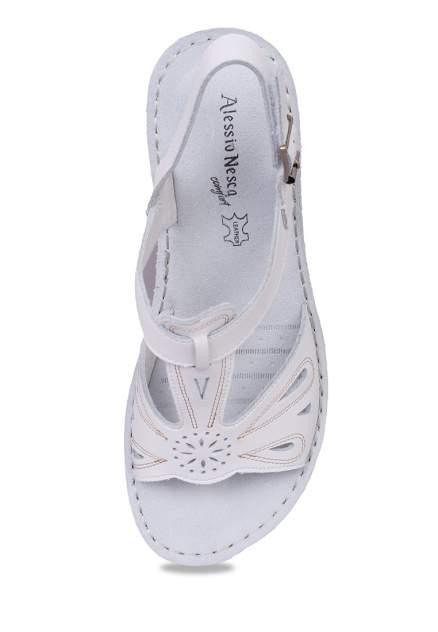 Босоножки женские Alessio Nesca Comfort 710018010 белые 36 RU