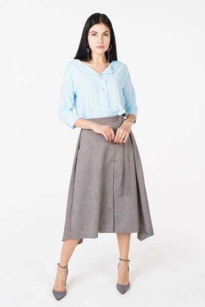 Блуза женская adL 11528050005 голубая 44 RU
