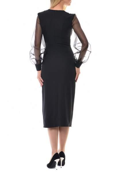 Платье женское N.A.Z. 61625 черное 42 RU