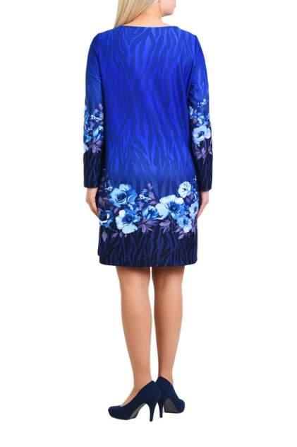 Платье женское OLSI 1905023/3 голубое 60 RU