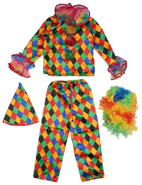 Карнавальный костюм Батик Арлекино 7007-28 рост 110 см