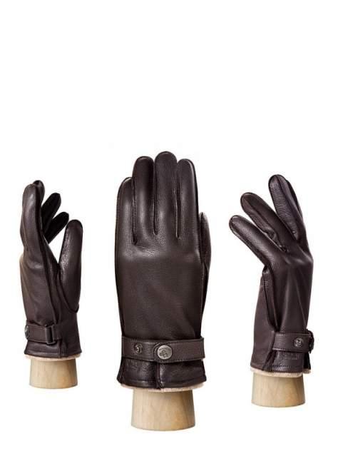 Перчатки мужские Eleganzza HS200 коричневые 10