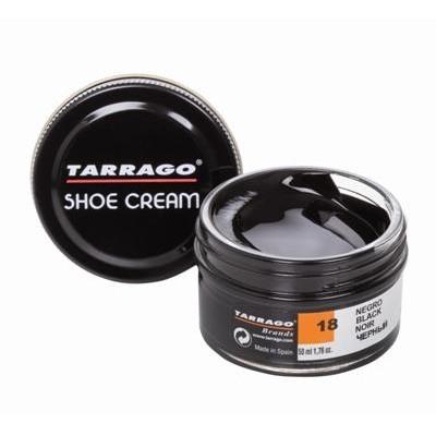 Крем для обуви для гладкой кожи TARRAGO SHOE Cream 50мл черный