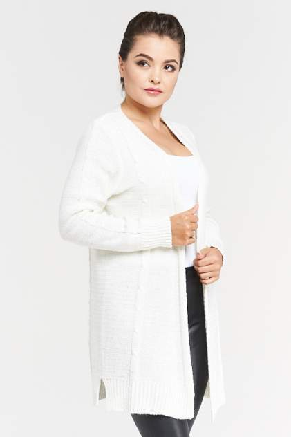 Жакет женский VAY 182-1546 белый 50 RU