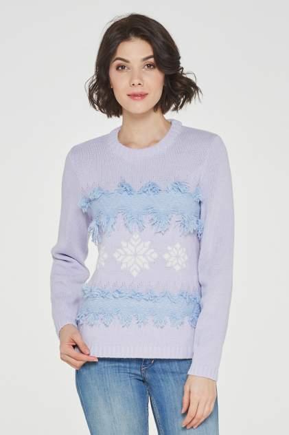 Джемпер женский VAY 192-4893 фиолетовый 50 RU