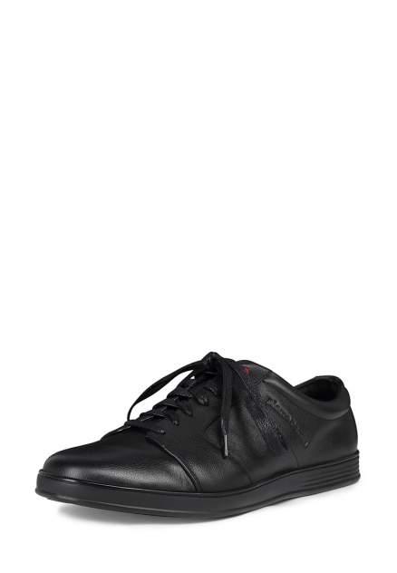 Полуботинки мужские Pierre Cardin M6208005 черные 45 RU