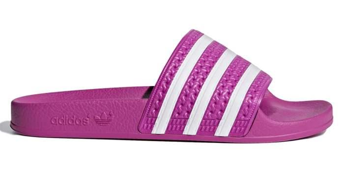 Шлепанцы Adidas Adilette, vivid pink, 6 UK