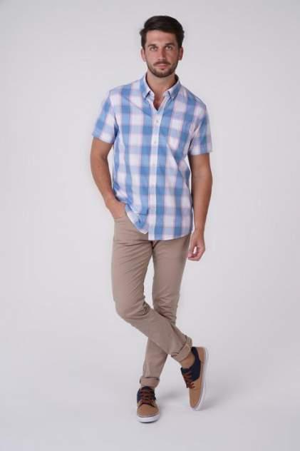 Рубашка мужская Broadway 20101333 голубая L