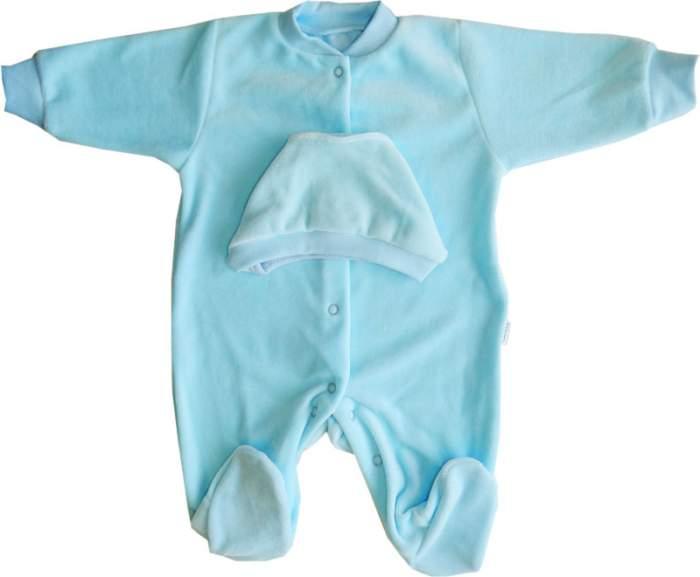 Комплект одежды Папитто, цв. голубой