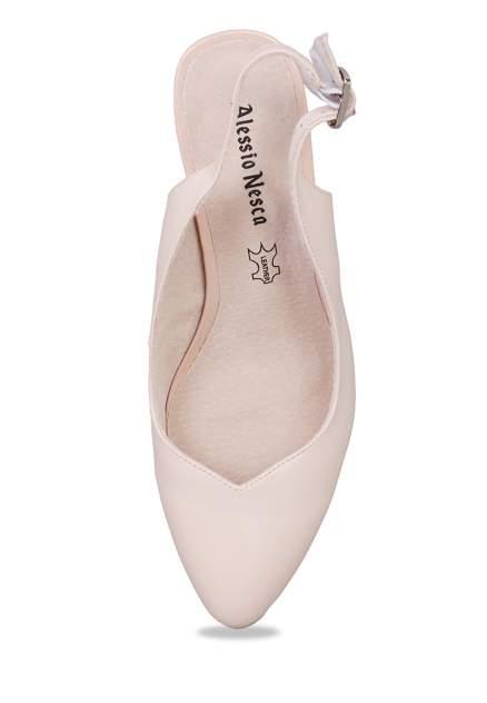 Туфли женские Alessio Nesca 710017767 бежевые 37 RU