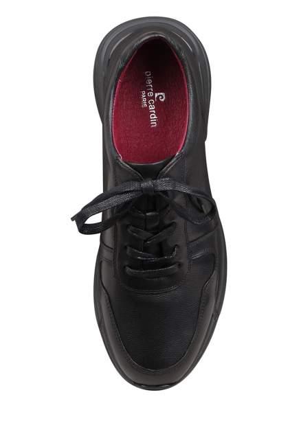 Полуботинки мужские Pierre Cardin M5208015 черные 41 RU