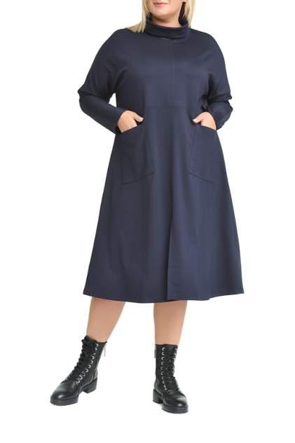 Платье женское SVESTA RKL953BLEF синее 60 RU