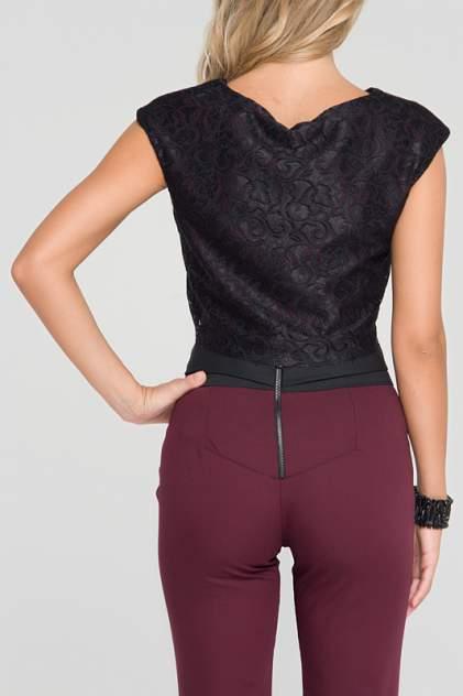 Блуза женская Gloss 13108(14) черная 40 RU