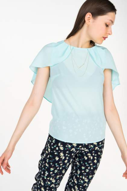 Блуза женская Audrey right 180860-8820 бирюзовая XS