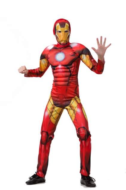 Карнавальный костюм Батик Железный Человек, цв. красный р.110