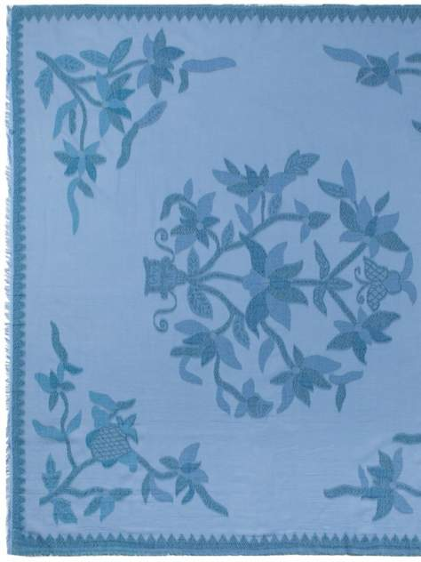 Платок женский Eleganzza MX20-0931 голубой