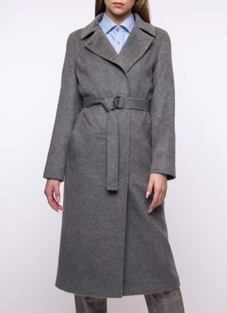 Пальто женское Каляев К-18-351 серое 50 RU