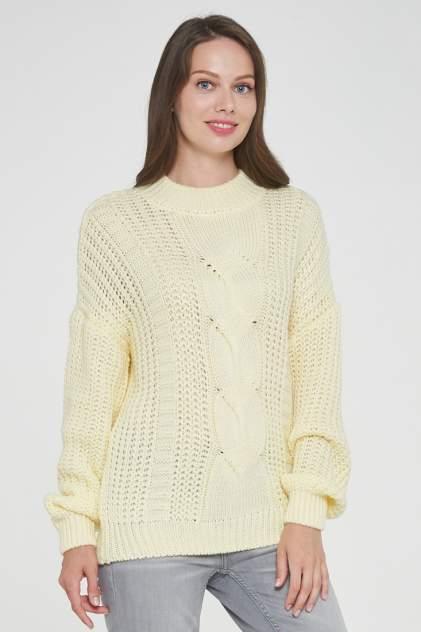 Джемпер женский VAY 192-4010 желтый 50 RU