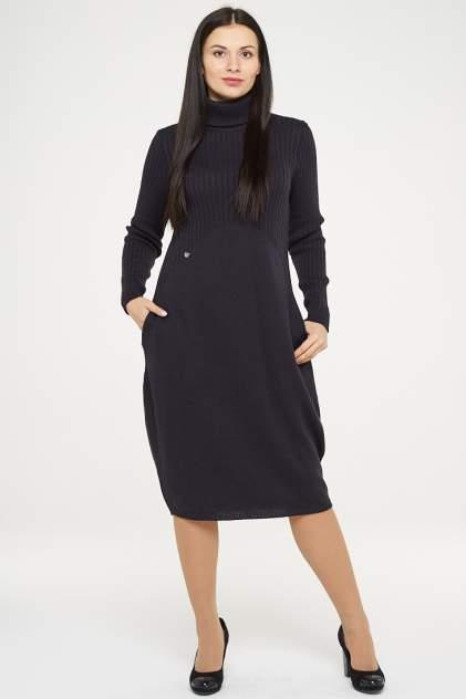 Платье женское VAY 182-2283 серое 50 RU