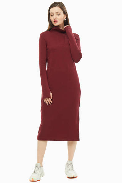 Женское платье The Cave 204301, бордовый